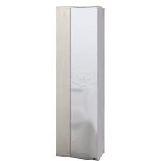 Асти МДФ Шкаф 2х дверный с полками (Белфорт/Белый глянец)