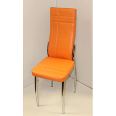 Лорд Интер стул (разборный) кожзам Оранжевый лидер 40