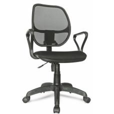 Кресло Марс new gtpp комфорт спинка сетка черная/сиденье В-14 (черный)