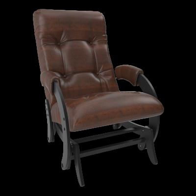 Кресло-глайдер Модель 68 (Ant.крокодил/Венге) Коричневый