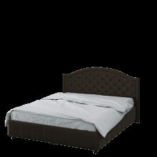 Кровать 1600 с под. механизмом (ткань Шоколад)