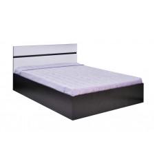 Вегас Спальня Кровать 1400 с настилом (Венге/Белый глянец)