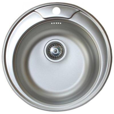 Мойка круглая D51 (0,6) с сифоном D100