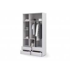 Валенсия ШК 013 Шкаф 3х дверный с ящиками (Дуб Анкор светлый)