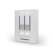Валенсия ШК 014 Шкаф 4х дверный с ящиками (Дуб Анкор светлый)