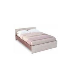 Бася КР 557 Кровать 1400 (Ясень шимо темный/ясень шимо светлый)